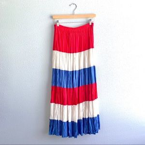 Red/White/Blue Long Skirt